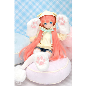 Pop-out Ponytail Hoodie Set (Puppy Ears) / Mini