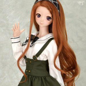 Olive Suspender Skirt Set [PREORDER]