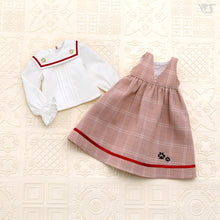 Load image into Gallery viewer, Outing Plaid Dress / Mini (Red)[PREORDER]