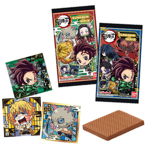 Demon Slayer: Kimetsu no Yaiba Deformed Sticker Wafer (Per Pack)