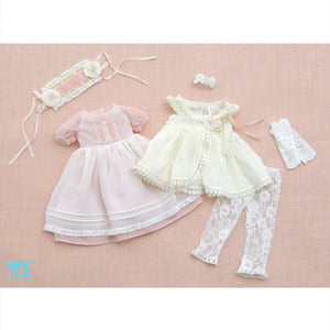Natural flower one-piece set mini