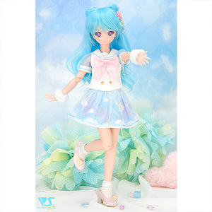 Cotton candy sailor mini (blue)
