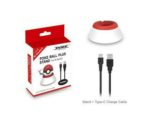DOBE Poke Ball Plus Charging Stand For Nintendo Switch