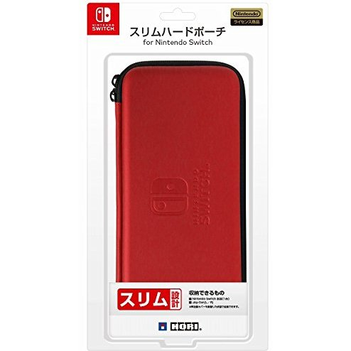 Slim Hard Pouch Hori for Nintendo Switch (Red)