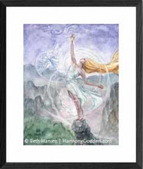 Air Mother watercolor painting by Beth Hansen