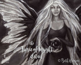 Faerie of Insight Fine Art Print – gothic fairy art