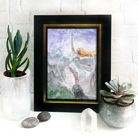 Air Mother Altar Goddess Print