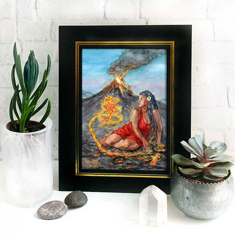 Fire Mother Altar Goddess Print