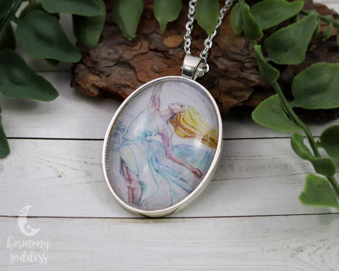 Air Mother Goddess Necklace