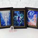 Starlight Goddess Altar Print Set of 3