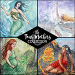 Air Mother Goddess Art Print