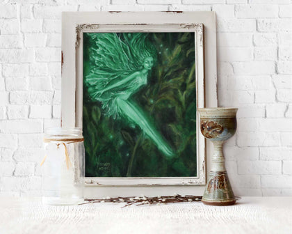 Faerie Of The Green fantasy art