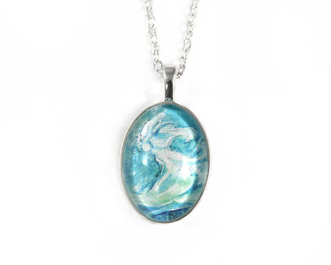 Water Elemental Sprite Necklace