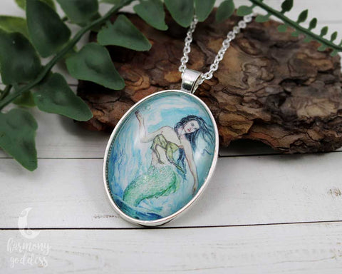 Water Mother Goddess Necklace