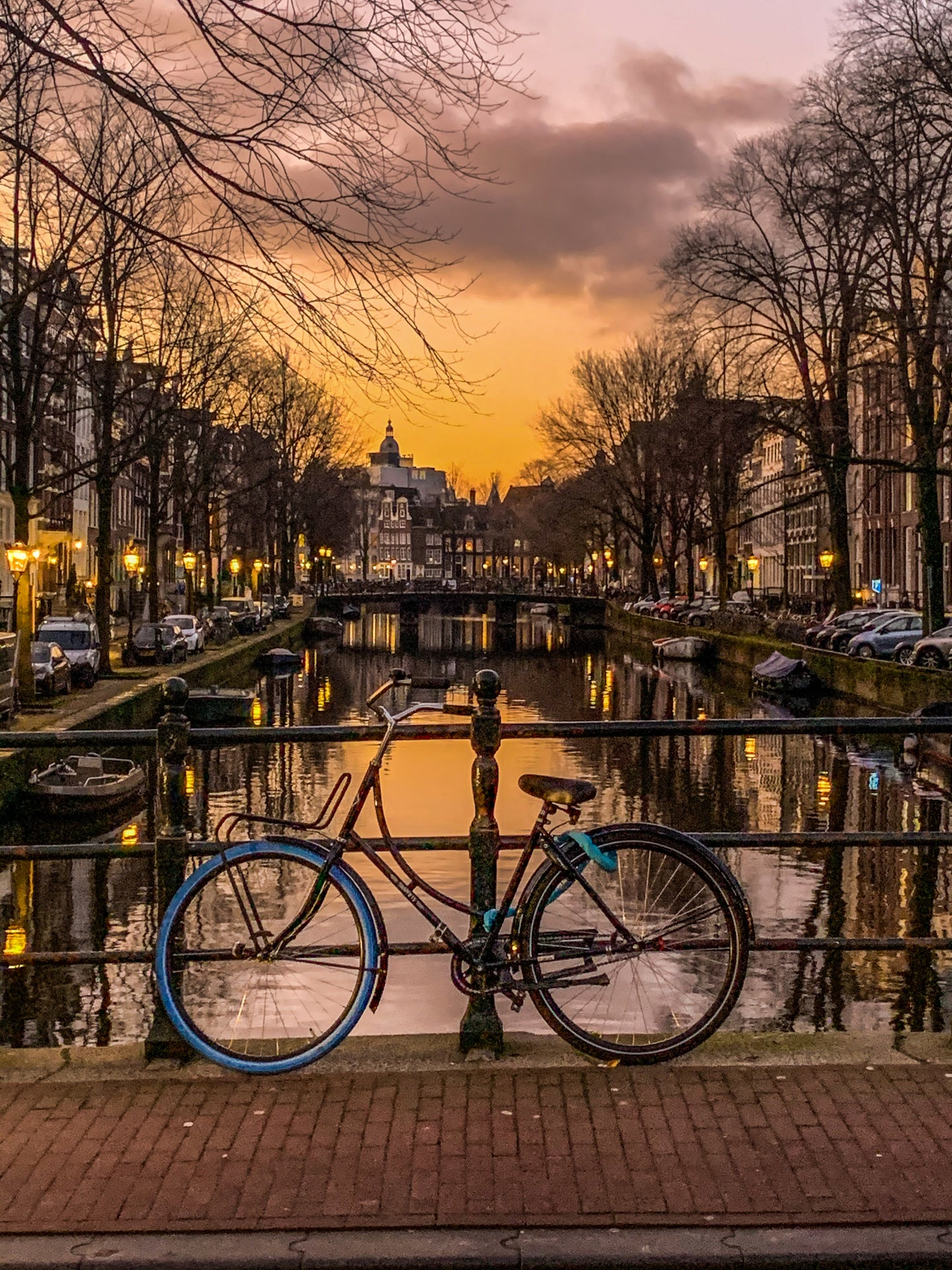 Amsterdam Bicycle - Note Card, Blank Inside