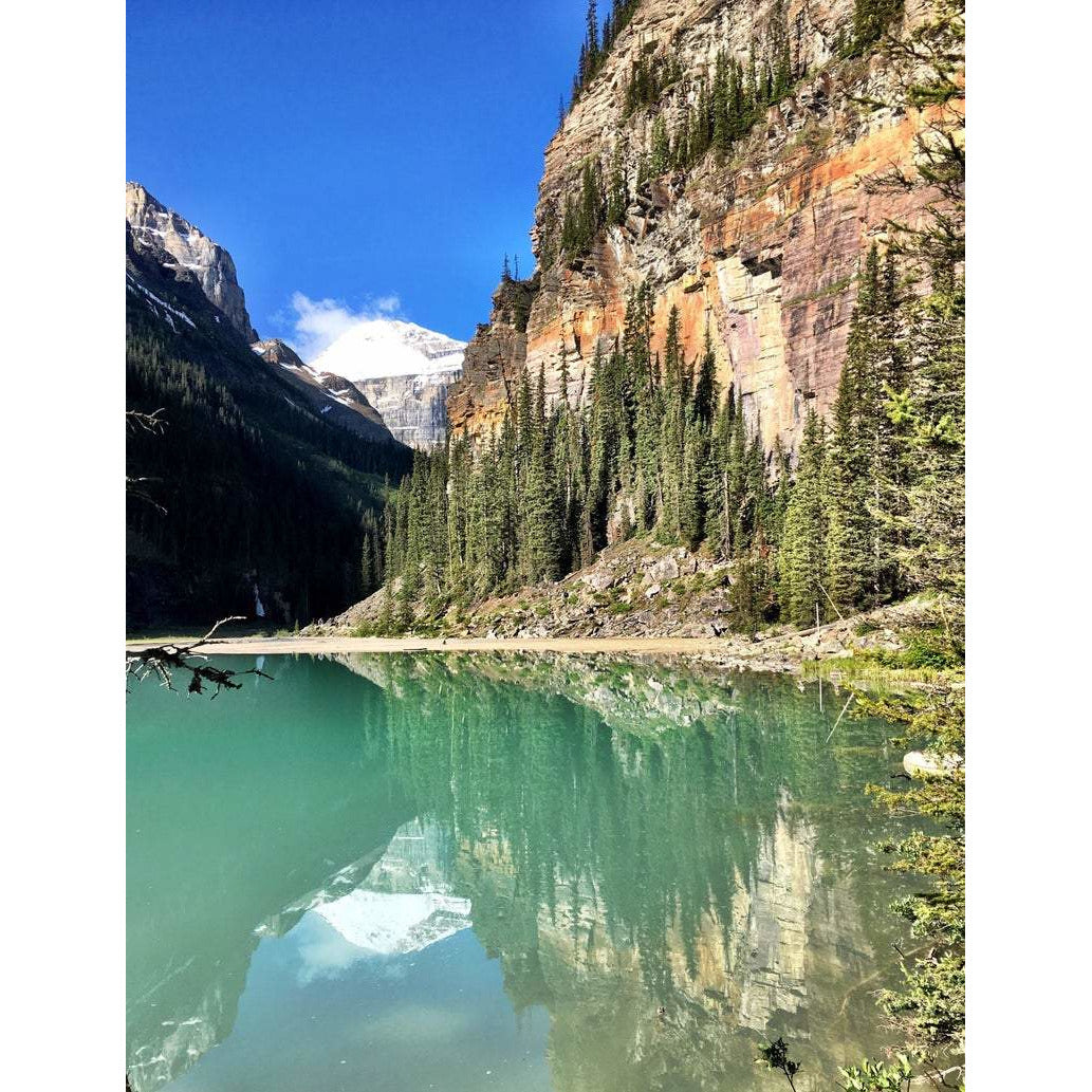 Lake Louise Serenity, Note Card, Blank Inside