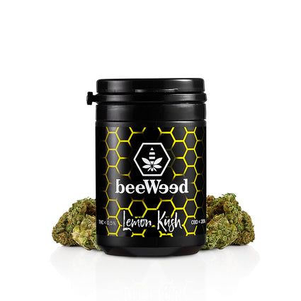 Lemon Kush - Cannabis Light Legale - bee-weed