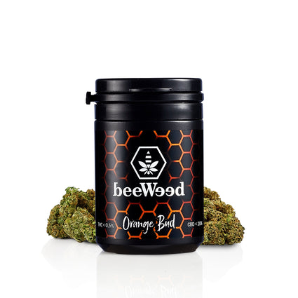 Orange Bud - Cannabis Light Legale - bee-weed