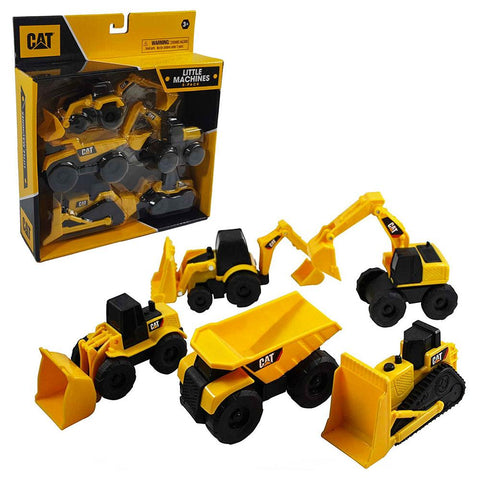 'CAT' set of 5 mini machines - The Present Factory