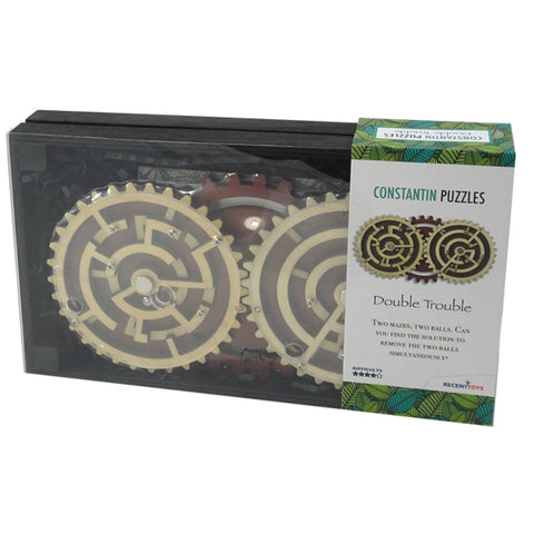 'Constantin' Double Trouble gear maze puzzle - The Present Factory