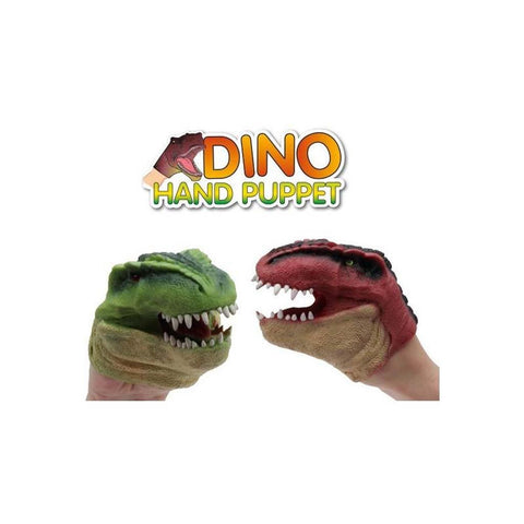 Dinosaur hand puppet - The Present Factory