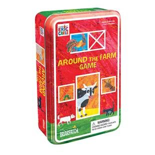 Eric Carle 'Around the Farm' game tin - The Present Factory