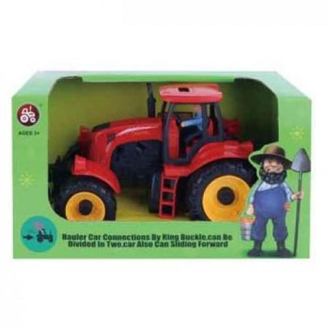 Friction Farm Tractor - The Present Factory
