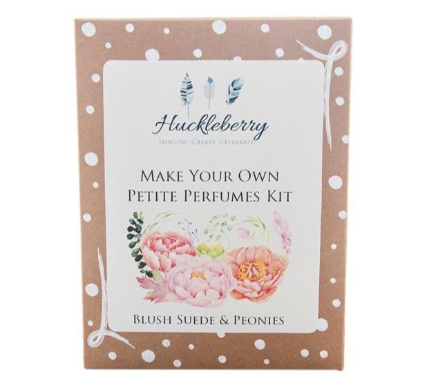 'Huckleberry' make your own petite perfume kits - Blush Suede & Peonies - The Present Factory