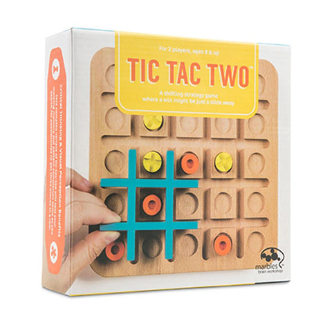 'Marbles Brain Workshop' Tic Tac Two game - The Present Factory