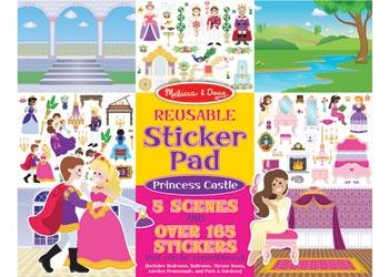 Melissa & Doug reuseable sticker pad - Princess - The Present Factory