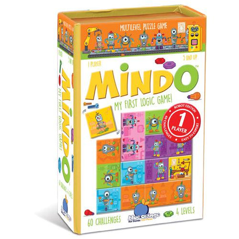 MINDO robot logic game - The Present Factory