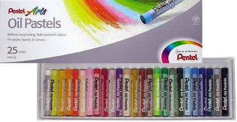 'Pentel' set of 25 oil pastels - The Present Factory