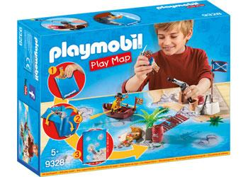 'Playmobil' pirate adventure play map - The Present Factory