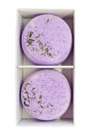'Saltylicious' lavender shower steamers (2 pack) - The Present Factory