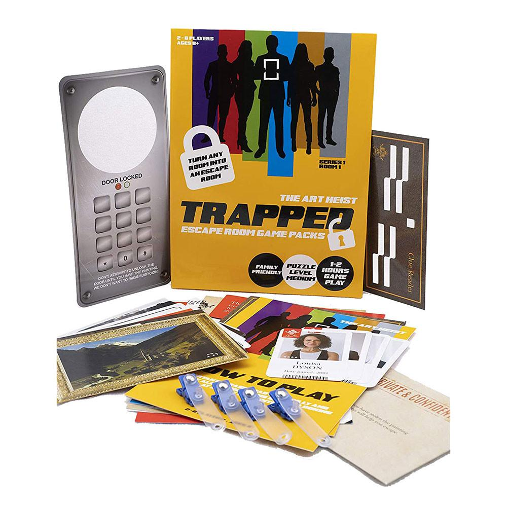 'Trapped' escape room game - The Present Factory