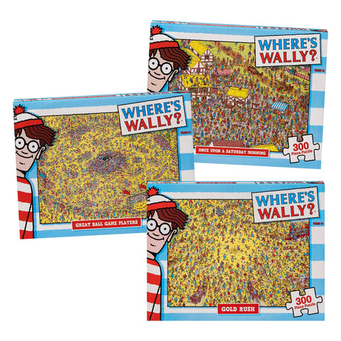 'Where's Wally' 300 piece puzzle - The Present Factory