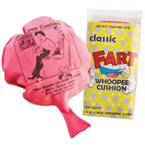 Whoopee cushion novelty toy - The Present Factory