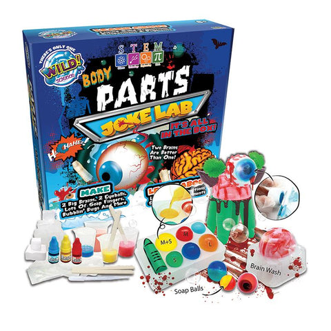 'Wild Science' Body Parts joke lab - The Present Factory