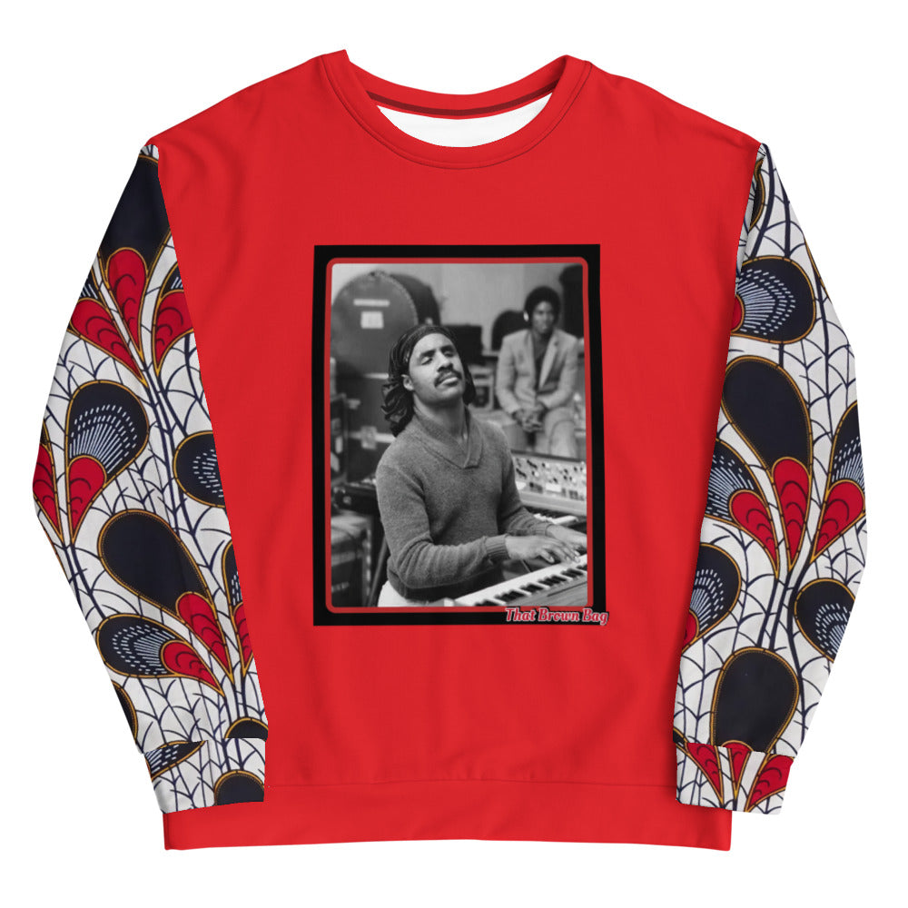 Limited Edition Black History Unisex Sweatshirt (Red)
