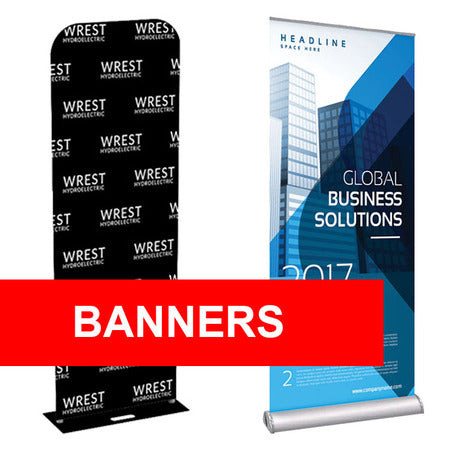 Roll Up Banners 850x2000mm