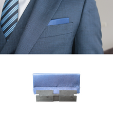 Load image into Gallery viewer, Perfect Square co blue perfect presidential with perfect base in a blue 3 piece suit
