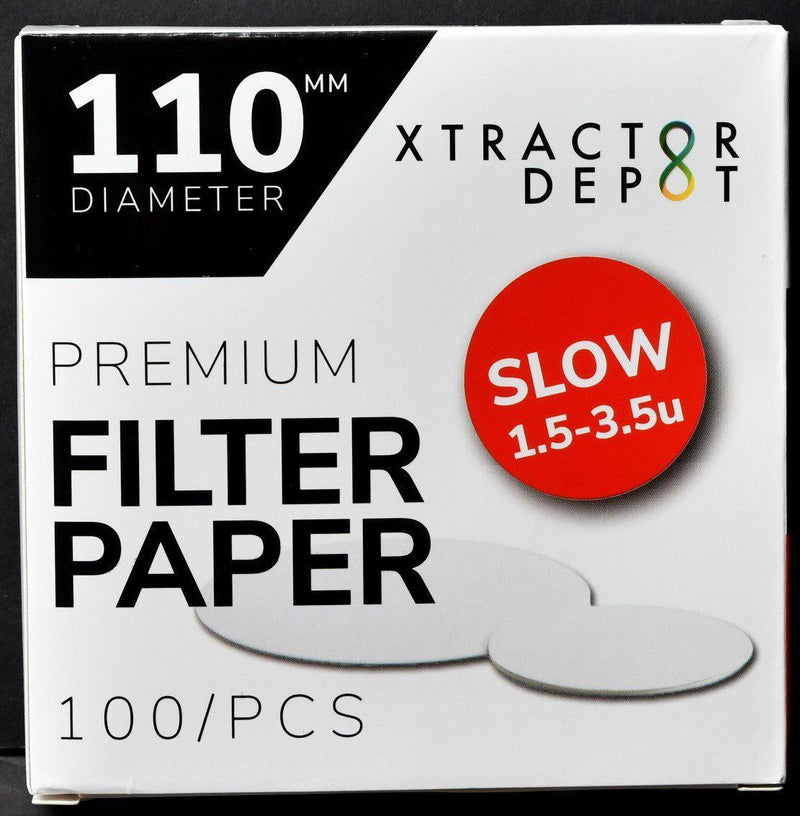 110mm Qualitative Filter Papers