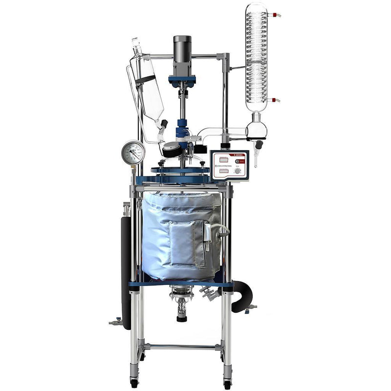 Ai 20L Single Jacketed Glass Reactor System