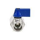 "Mini Ball Valve - 1/2"" MNPT X FNPT SS316"