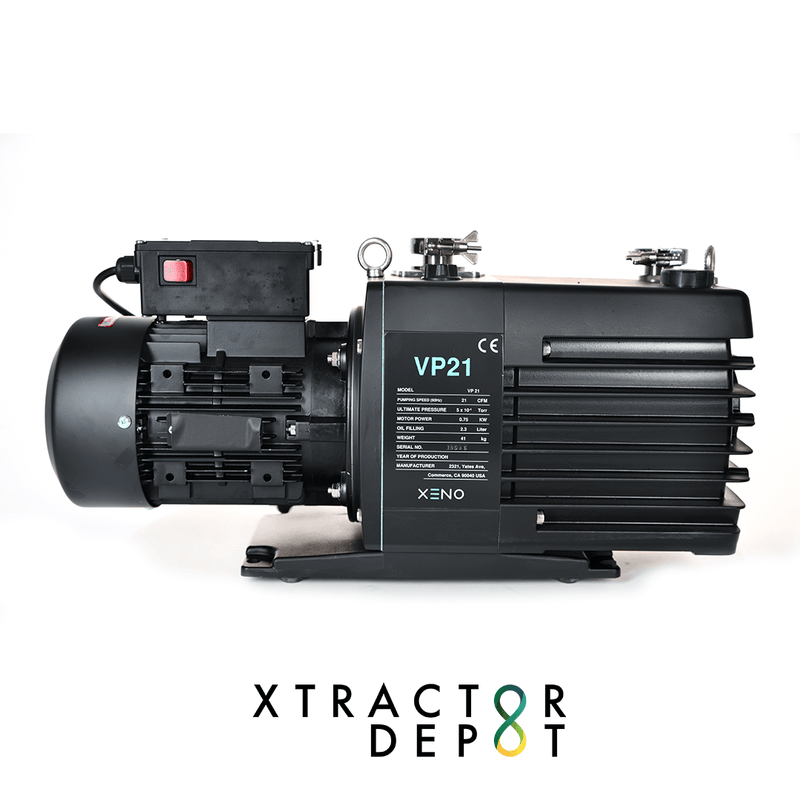 XENO Vacuum Pump- VP21 at Xtractor Depot