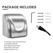 Load image into Gallery viewer, Electric Auto Hand Dryer 1800W High Speed Commercial and Household Use tet - Kaiezen