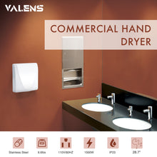 Load image into Gallery viewer, High-Speed Stainless Steel Hand Dryer (White Surface) - Kaiezen