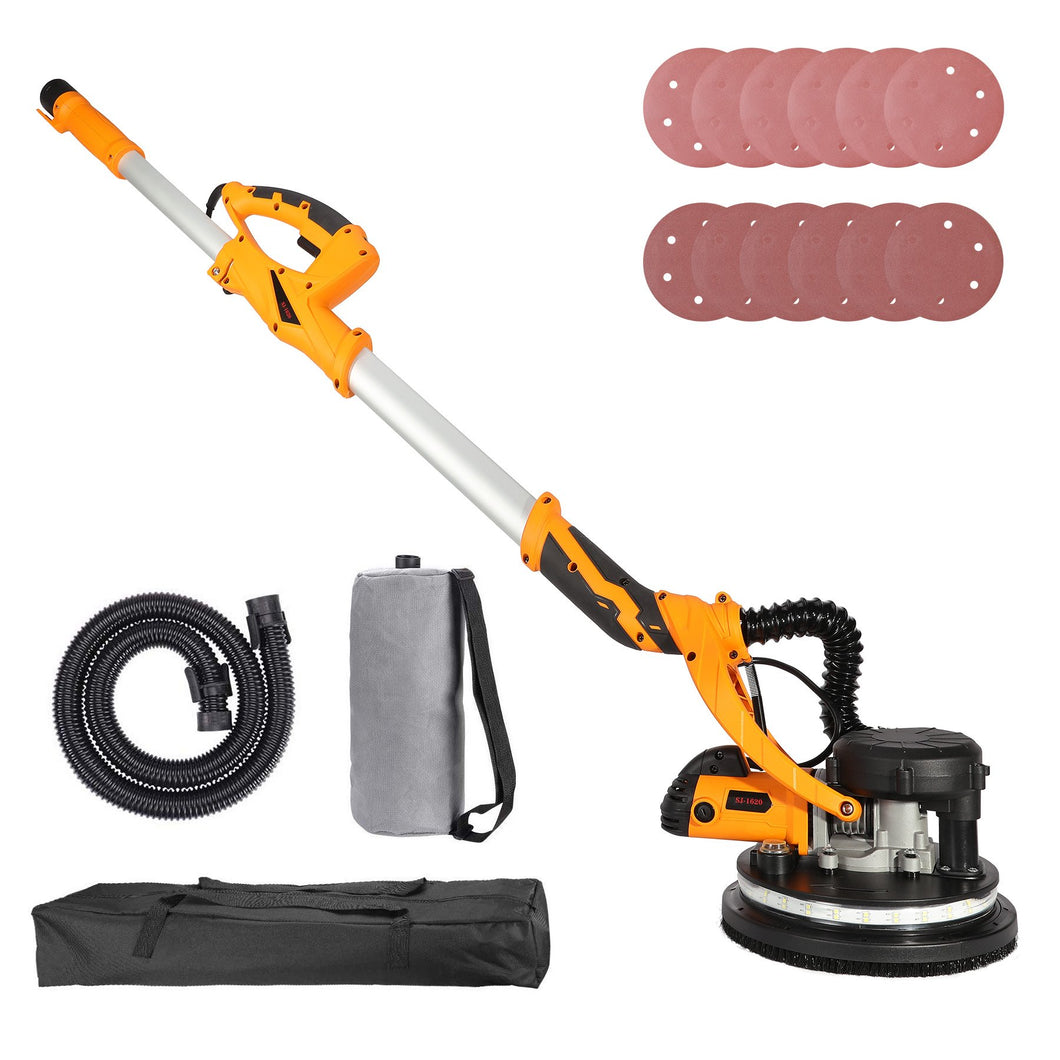 850W Drywall Sander with Integrated Vacuum System - Kaiezen
