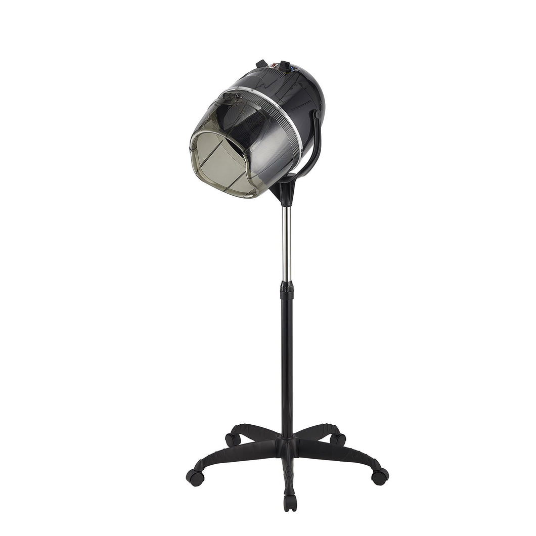 Stand Up Hair Dryer Swivel Hood Caster for Salon Beauty Professional with Timer - Kaiezen