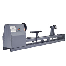 "Load image into Gallery viewer, Electric Wood Lathe 14"" x 40"" Power Wood Turning Lathe 350W 4 Speed Benchtop - Kaiezen"
